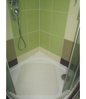 Protiskluzová podložka do sprchy 56x56 cm