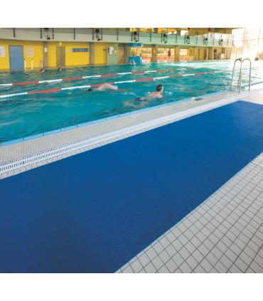 Vinylová mřížková rohož k bazénu 8 mm - metráž