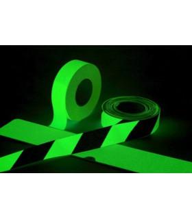 Šrafovaná fotoluminiscenční protiskluzová páska 50 mm x 18,3 m