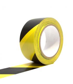Žlutočerná vyznačovací páska 50 mm x 33 m