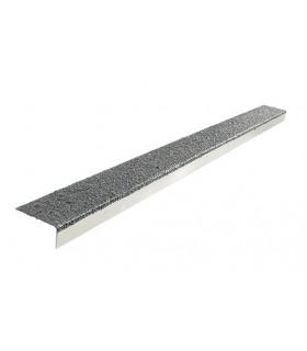 Protiskluzový profil na hranu schodu - sklolaminát + nerez