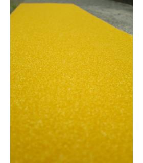Žlutá obdélníková páska 150 x 610mm - hrubozrnná