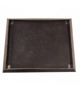 Desinfekční hygienická gumová rohož - černá
