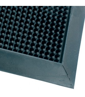 Kaučuková kartáčová čistící rohož 60 x 80 cm