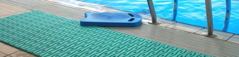 Bazénové a sanitární rohože